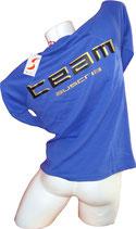 Ski Austria Langarm-Shirt, blau