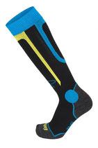 Eisbär Ski Socks schw/blau/gelb