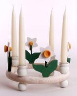 1 Narzisse für großen Kerzenring