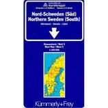 Kümmerly & Frey Karten, Nord-Schweden (Süd) Blatt 5