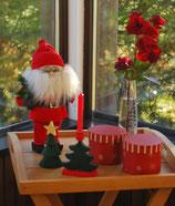 """Schwedischer Weihnachtsmann mit Brille """"Jultomte"""""""