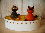 1 Katze für grossen Kerzenring