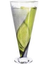 KOSTA BODA, TWISTER Vase grün
