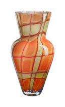KOSTA BODA, VIVIENNE Vase rot