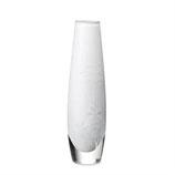 Royal Copenhagen, Glas- Vase weiss