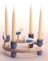 1 Möwe für großen Kerzenring