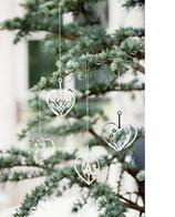 Jette Frölich Weihnachtsherzen silber