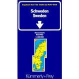 Kümmerly & Frey Karten, Schweden