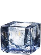 KOSTA BODA, BRICK Teelichthalter, blau