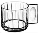 Orrefors, HOTTO Glögg- o. Espressotassen, Streifen