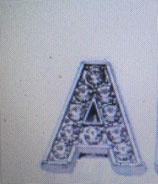 "Strassbuchstabe ""A"""