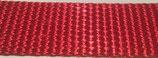 Gurtband PA glänzend, rot