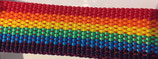 Gurtband PP matt, rainbow