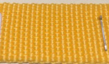 Gurtband PP matt, gelb