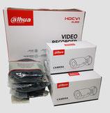 2MP Videoüberwachungsset mit 3 Stk. Bullet - Außenkamera inkl. Zubehör