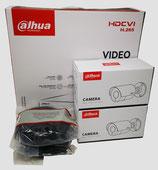 2MP Videoüberwachungsset mit 2 Stk. Bullet - Außenkamera inkl. Zubehör