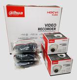 2MP Videoüberwachungsset mit 3 Stk. Mini-Dome-Innenkamera inkl. Zubehör