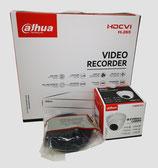 2MP Videoüberwachungsset mit 1 Stk. Mini-Dome- Außenkamera inkl. Zubehör