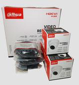 2MP Videoüberwachungsset mit 3 Stk. Mini-Dome-Außenkamera inkl. Zubehör