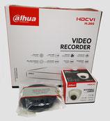 2MP Videoüberwachungsset mit 1 Stk. Mini-Dome-Innenkamera inkl. Zubehör