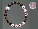 Armband Fußball wild boy Nr. TS 1