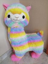 Riesen-Regenbogen-Alpaka