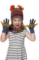 Kinder Aquarell Fingerhandschuhe