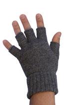 Fingerlose Handschuhe uni