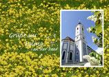 Grüße aus Egling mit St. Vitus
