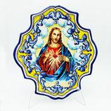 Plato decorativo Sagrado Corazón