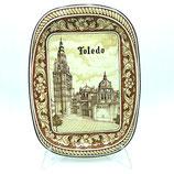 Bandeja de Cerámica Vista de Toledo