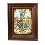 Cuadro Escudos Heráldicos con marco 6 azulejos