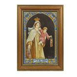 Cuadro Virgen del Carmen Marinera