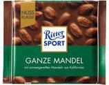 Ritter Sport chocolate con leche y almendras