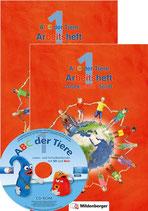 Abc der Tiere Arbeitsheft Druckschrift A/b