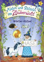 Malen und Rätseln im Zauberwald - Wörter-Rätsel