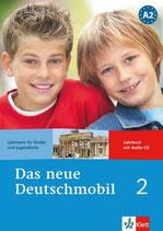 Das neue Deutschmobil 2. Lehrbuch mit Audio-CD