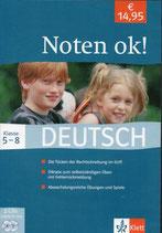 Noten Ok! Deutsch 5+8 Klasse