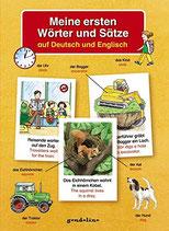 Meine ersten Wörter und Sätze auf Deutsch und Englisch