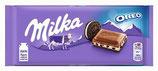 Milka Chocolate con leche- Alpen Milk con galleta Oreo