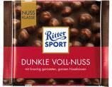 Ritter Sport chocolate amargo con Avellanas