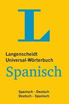 Universal-Wörterbuch Spanisch: Spanisch-Deutsch/Deutsch-Spanisch
