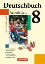 Deutschbuch 8, Arbeitsheft