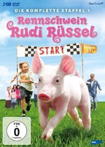 Rennschwein Rudi Rüssel- Die komplette Staffel 1 (Rudy, cerdito de carreras- Primera temporada completa)