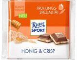 Ritter Sport chocolate con miel y galleta