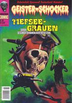 Geister Schocker Comic - Tiefsee-Grauen-  m.Audio CD Sechs Geschichten namenlosen Entsetzens