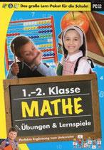 1+2 Klasse Mathe Übungen & Lernspiele