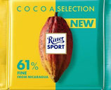 Ritter Sport Chocolate amargo 61% Cocoa