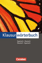 Cornelsen Klausurwörterbuch: Spanisch-Deutsch/Deutsch-Spanisch