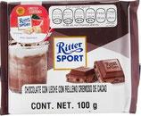 Ritter Sport chocolate con relleno cremoso de cocoa